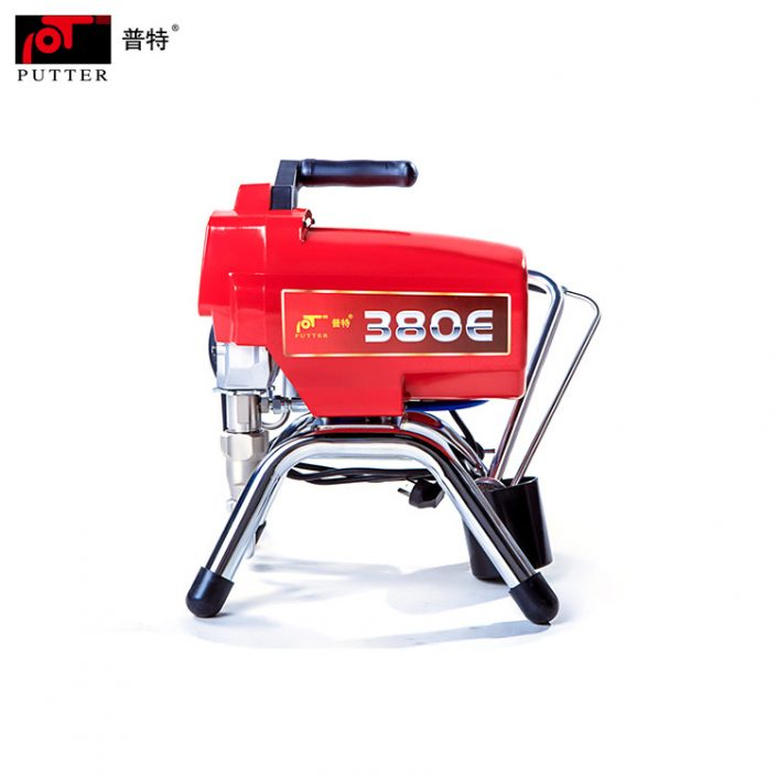Putter PT380E Portable Electric Piston Pump Paint Sprayer for home brushless motor